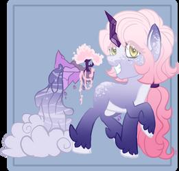 Pelago Pony Adopt Auction by AzrealRou