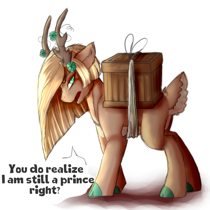 Haul your own shit sometimes! by AzrealRou