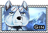Gin stamp by GingaChani
