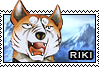 Riki stamp by GingaChani