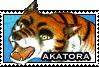Akatora stamp