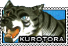 Kurotora stamp by GingaChani