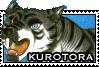Kurotora stamp by GingaChani