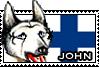 John stamp by GingaChani