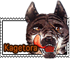 Kagetora stamp by GingaChani