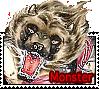 Monster stamp by GingaChani