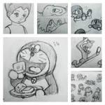 Doraemon Astro Boy Sketchbook 3