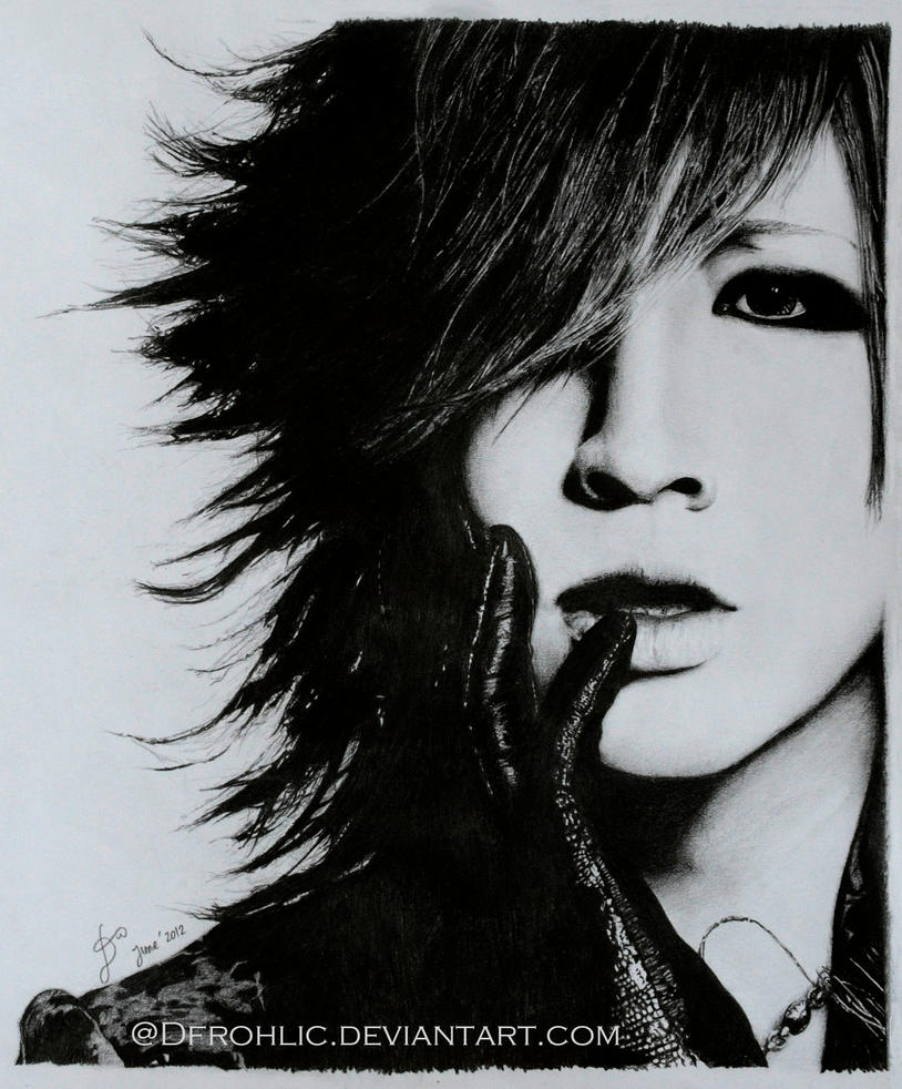 RUKI II - pencil drawing by DFrohlic