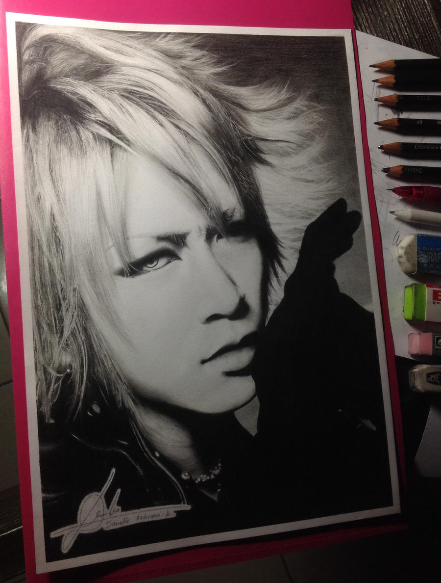 RUKI the GazettE (pencil drawing) by DFrohlic