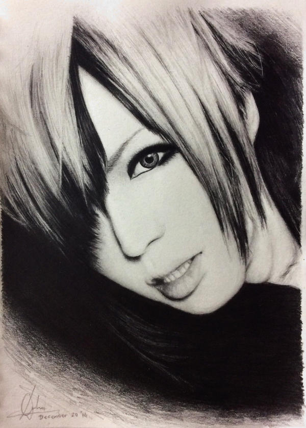 Yo-ka DIAURA (pencil drawing) by DFrohlic