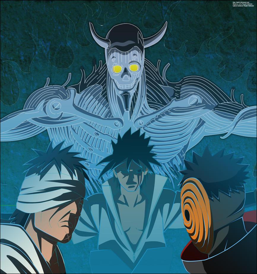 Imagenes poco vistas de Naruto ..