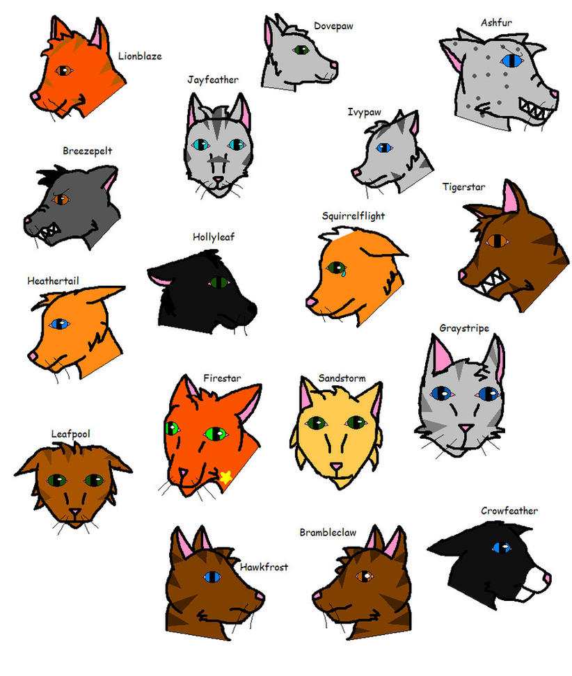 Warriors Cats And Theme Songs By Catsrockmysox8 On DeviantArt