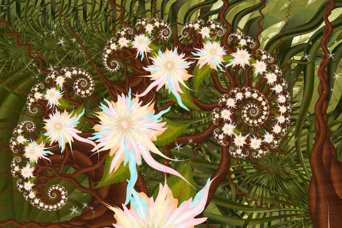 Deep Within The Rainforest...(Center) by SiennaBlue