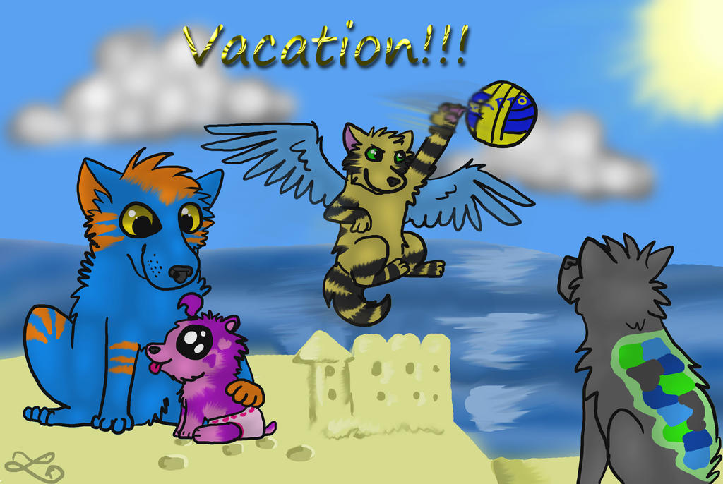 Vacation! by Orengepaw