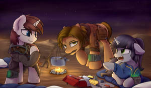[C] Camping out