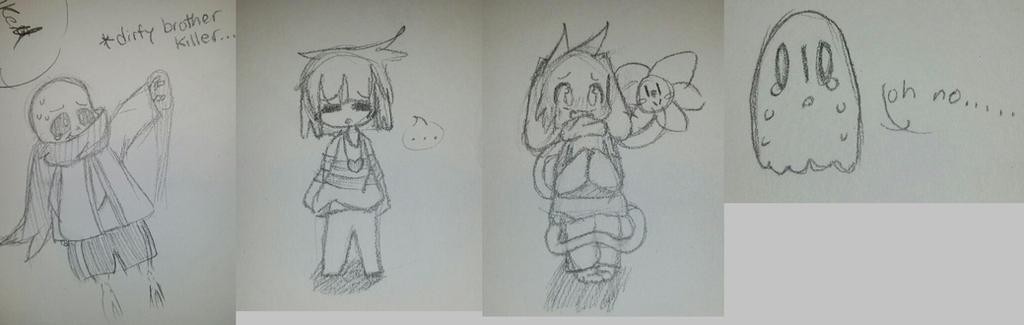 Undertale Doodles by Yuzuvee