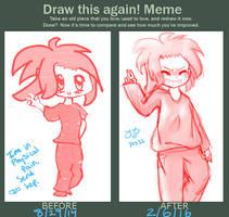 Draw this again! Meme by Yuzuvee