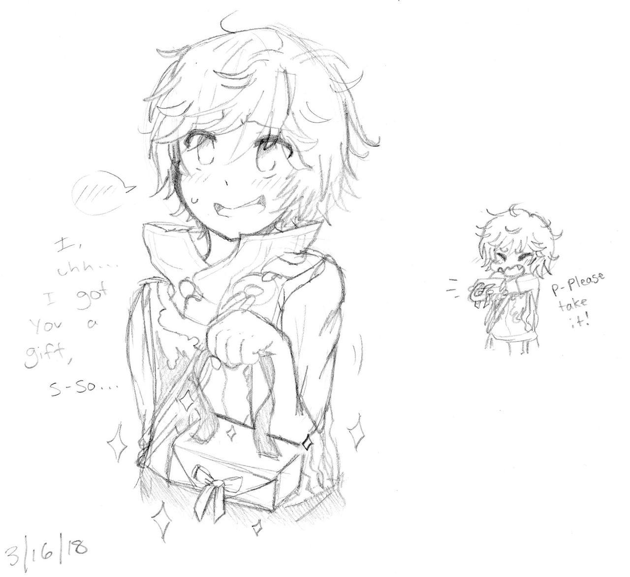 Arthur, A Good Boi by Yuzuvee