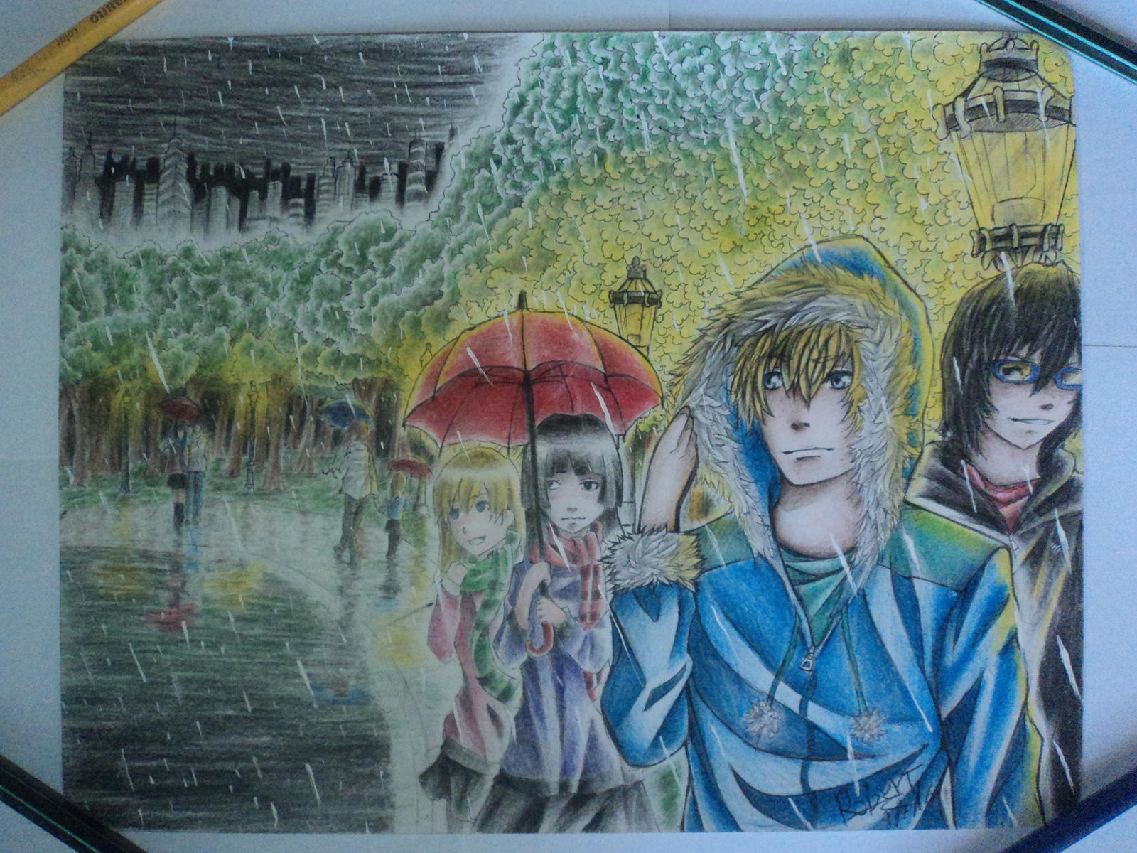 Rainy day by robert2715