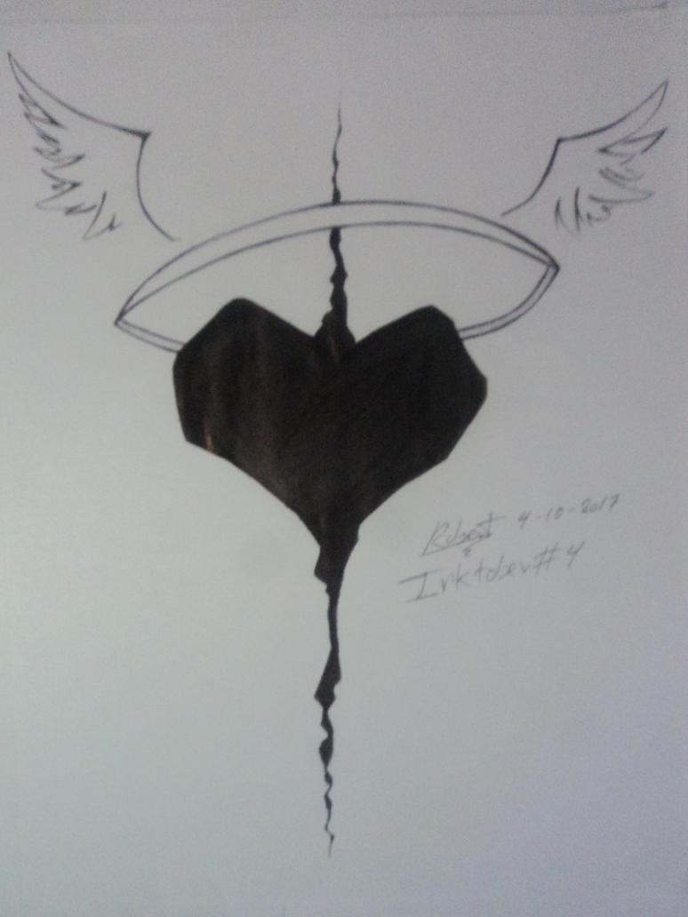 Inktober 4 -Fierce heart by robert2715