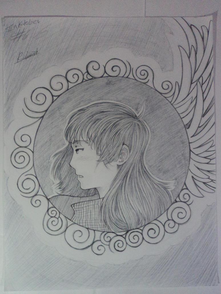 Inktober 6 -Wings by robert2715