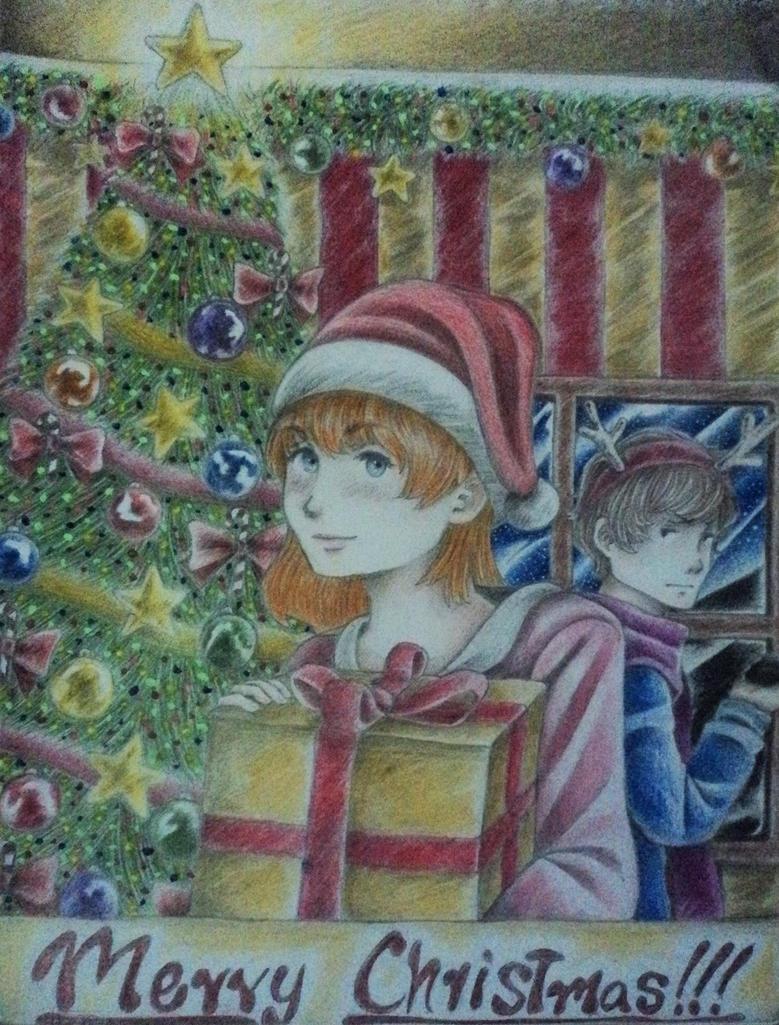 Merry christmas by robert2715
