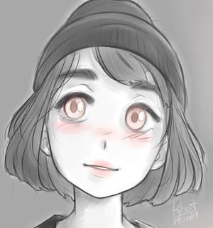 Beanie girl
