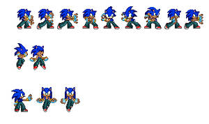 New Sonic Pants Poses