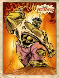 Hulk Destroys by judson8