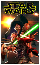 Star Wars by cheeks by judson8