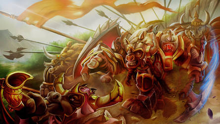 The last stampede of the Taurens by judson8