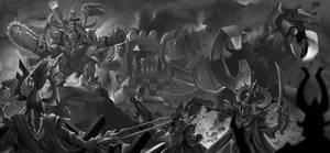 Warhammer 40k greyscale
