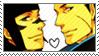Kojuuro X Sasuke stamp by uchiha-itachi111