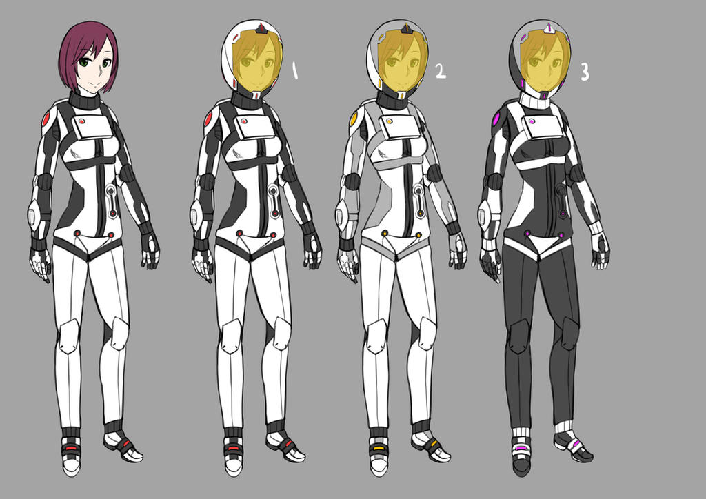 Space suit design by GGSalmon on DeviantArt