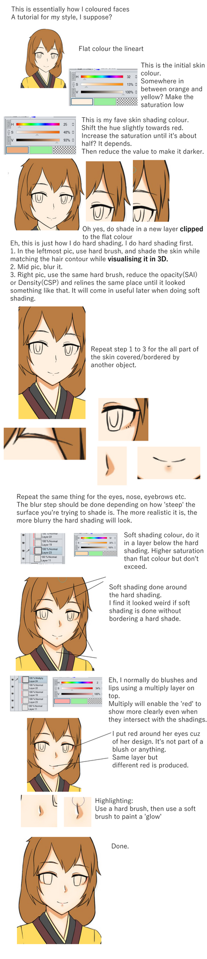 Face tutorial by GGSalmon
