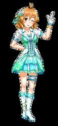 ARAKI HINA 1ST SSR by GGSalmon