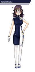 Character Design: Aomori Chinatsu by GGSalmon