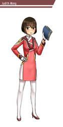 Character Design: Judith Wong by GGSalmon