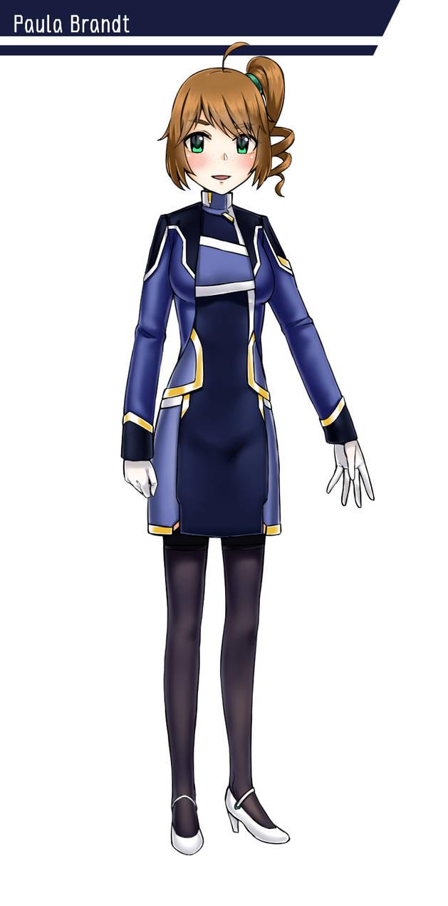 Character Design: Paula Brandt by GGSalmon
