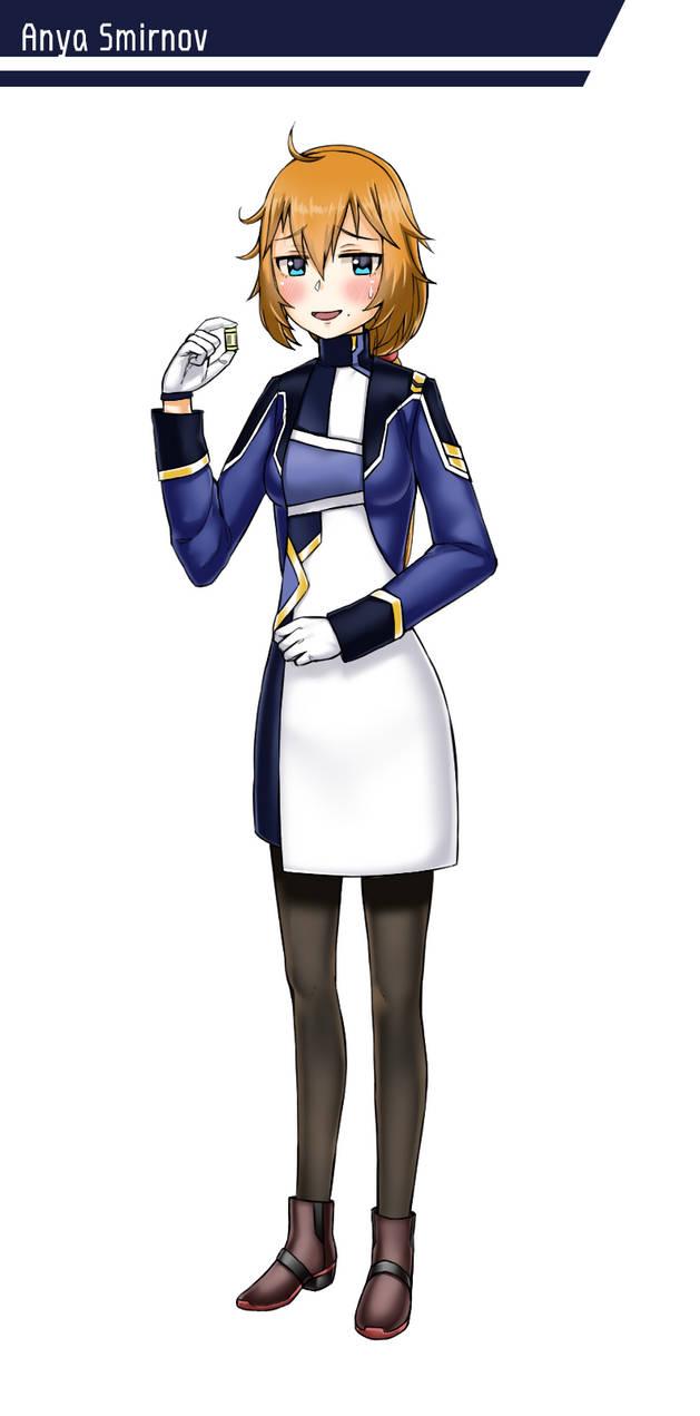 Character Design: Anya Smirnov by GGSalmon