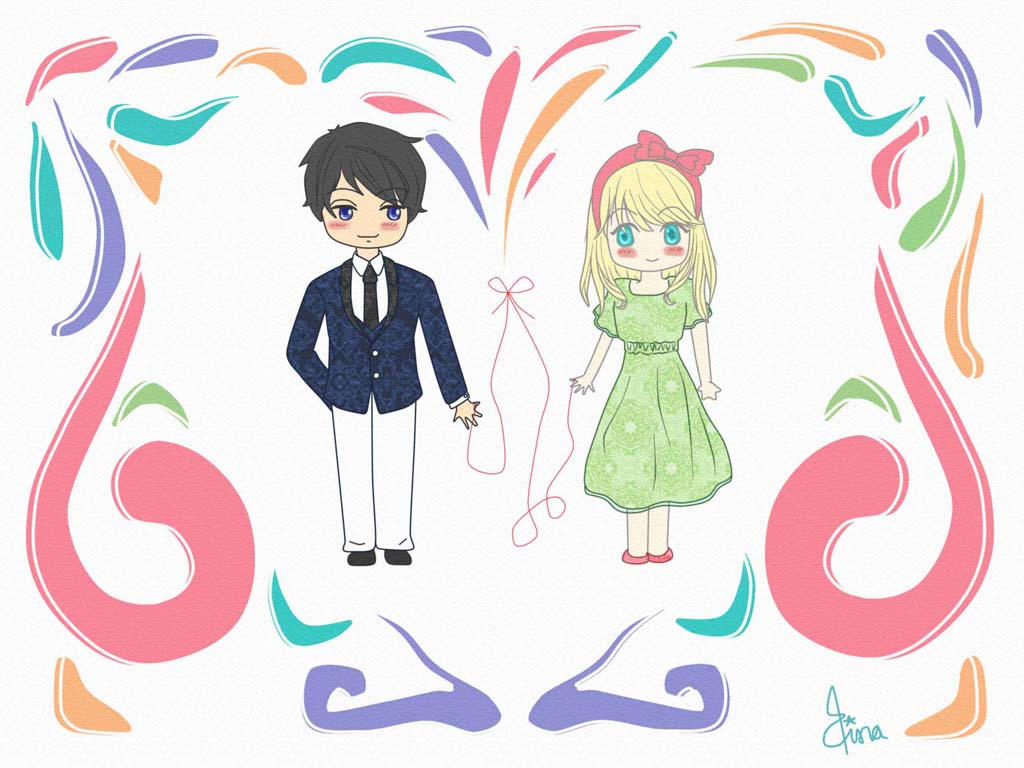 Red String Of Fate First Love By Ammy Ajaa On Deviantart