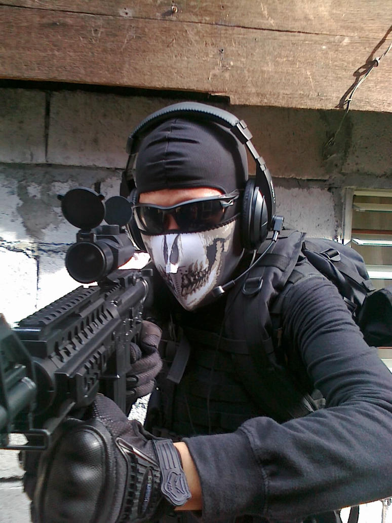 Modern warfare 2 [Ghost cosplay] by Jlandkenzo on DeviantArt