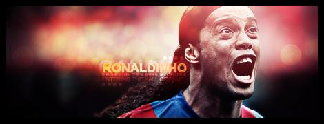Ronaldinho by M3pHIsT0-DK-ARTS