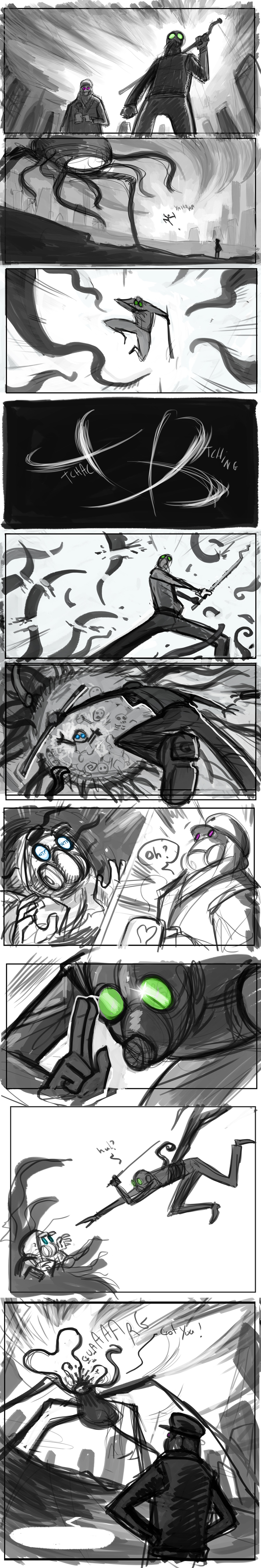 Romantically Apocalyptic 60 - Storyboard by Grimhel
