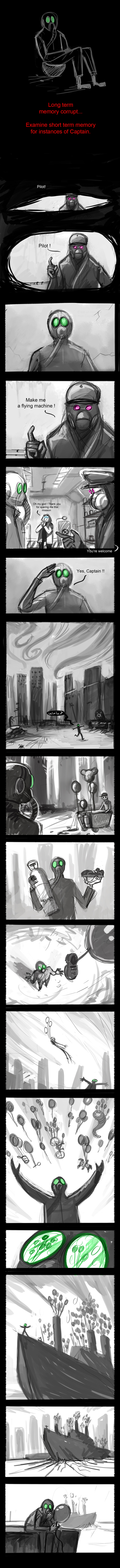 Romantically Apocalyptic Issue 62-63 Storyboard by Grimhel