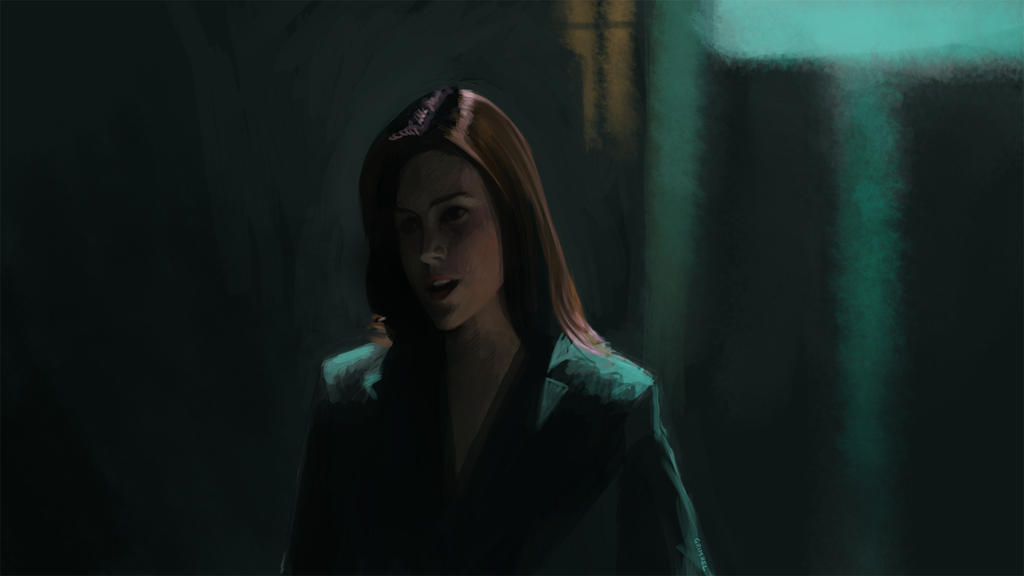 Dark City - Speedpainting 3 by Grimhel