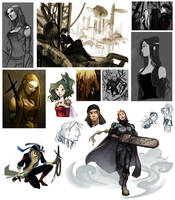 FF6 doodle and stuffs by Grimhel