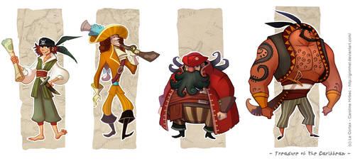 Treasure of the Caribbean - Pirates