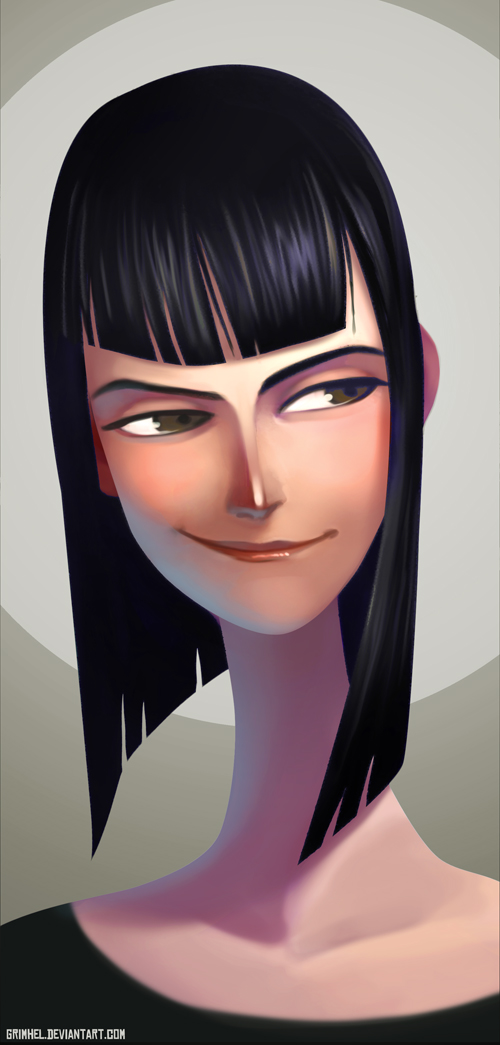 Nico Robin by Grimhel