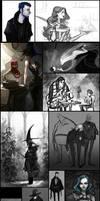 Sketchdump Part6 : comics project
